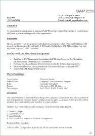 Sap Bi Sample Resume For 2 Years Experience