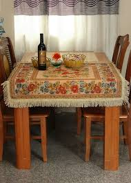 Get Ready For The Holidays With Our Rustic Tablecloths Add Some Color To Your Table