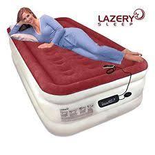 Serta Air Mattress With Headboard by Queen Size Raised Bed Built In Pump Serta Headboard Inflatable Air