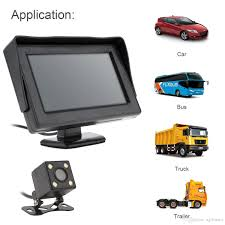 4.3 Inch HD 2-Channel Video Input TFT-LCD Car Monitor + 170 Degrees ... Wireless Reverse Cameras For Truck Ford F150 F250 F350 Backup Camera Oe Fit Includes 35 Lcd Reversing Camera Systems For Trucks Best Backup Drivers In 2018 12 24v Car Ir Rear View Kit 7 Tft Back Up Installation Toyota Tacoma Youtube Cars And Sensors La Hot Sale Color Cmos Bus Night Vision Led Aftermarket Gps Digital Up System Collision