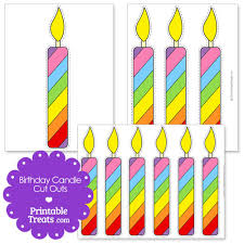Candle clipart printable birthday 8