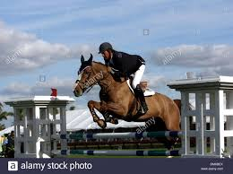 100 Wellington Equestrian Club Jan 26 2006 FL USA Jumper Competing In