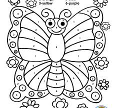 Colouring Pages Butterfly Color