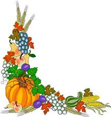 Fall Leaves Corner Clipart