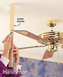 how to fix a wobbly ceiling fan family handyman
