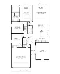 Centex Floor Plans 2001 by Compton Plan At Summerlyn In Leander Texas By Centex Homes