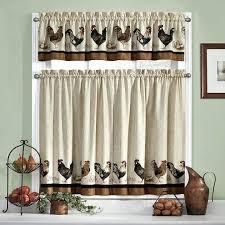 trendy kitchen curtains sears muarju