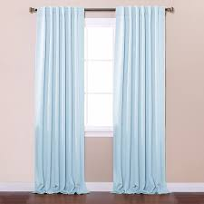 Sound Reduction Curtains Uk by Amazon Com Best Home Fashion Thermal Insulated Blackout Curtains