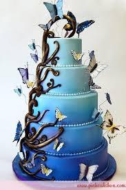Enchanted Butterfly Wedding Cake Pink Cake Box wedding cakes