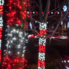 Outdoor Xmas Lights Best Outside Christmas Decorations Ideas Art Design Of String Light Tree