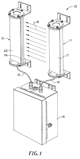 Keyence Light Curtain Wiring by Patent Ep0598630a1 Light Curtain System With Individual Beam