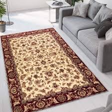 perserteppich wohnzimmer mit orientalischem blumenmotiv istanbul cre001ist