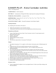 LESSON PLAN – Extra Curricular Activities Extrarricular Acvities Resume Template Canas Extra Curricular Examples For 650841 Sample Study 13 Ideas Example Single Page Cv 10 How To Include Internship In Letter Elegant Codinator Best Of High School And Writing Tips Information Technology Templates