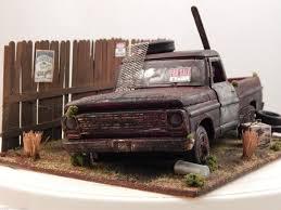1 24 Ford F 100 Pickup 1969 Barn Find Diorama Code 3