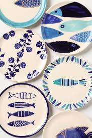 25+ Unique Fish Plate Ideas On Pinterest | Clay Fish, Ceramic Fish ... Pottery Barn Asian Square Green 6 Inch Dessert Snack Plates Shoaza Ding Beautiful Colors And Finishes Of Stoneware Dishes 2017 Ikea Hack We Loved The Look Of Pbs Catalina Room Dishware Sets Red Dinnerware Fall Decorations My Glittery Heart Kohls Dinner 4 Sausalito Figpurple Lot 2 Salad Rimmed Grey Target
