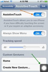 The Assistive Touch