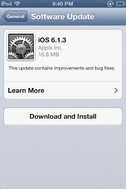 Download iOS 6 1 3 Firmware For iPhone iPad And iPod Touch