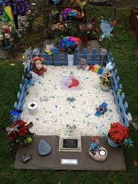 ideas for graveside decorations image result for baby grave idea grave stones an decorations
