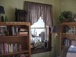 classy style with primitive curtains for living room designs