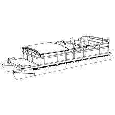 Pontoon Boat Cover | 23'9
