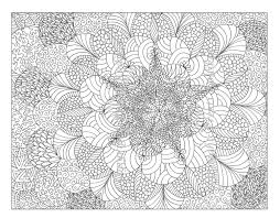Adult Pattern Coloring Pages Printable Tagged With Detailed Page