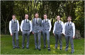 Rustic Groomsmen Vest Wedding Grey Source Abuse Report