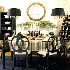 Christmas Dining Table Decorations Centerpiece Ideas Room Arrangement A