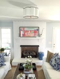 flush mount lighting in the living room emily a clark flush