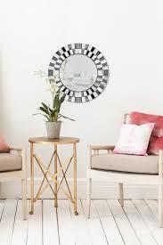 spiegel rund wandspiegel horus 410 silber kayoom gmbh