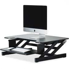 Monitor Shelf For Desk Ikea by Lorell 81974 Sit And Stand Monitor Riser Llr81974 Ebay Regarding