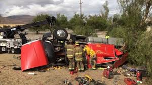 Kern County Fire Rescues Man From Semi-truck After Crash On ...