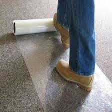 China Carpet Protector 1PE Plastic Film Roll 2Used