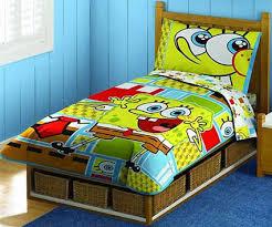 spongebob squarepants toddler bedding 4 piece set toddler