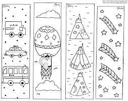 Fresh Bookmarks Coloring Pages 19 On Gallery Ideas With