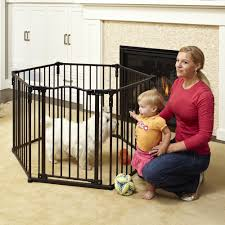Summer Infant Decor Extra Tall Gate Instructions by North States Superyard Arched Metal Baby Pet Gate Play Yard Bronze