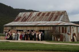 Rustic Barn Style Wedding Venue Blue Mountains