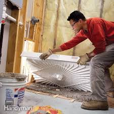how to fit a shower tray family handyman