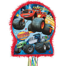 Pull String Blaze And The Monster Machines Pinata 17 1/2in X 21 1 ... Cupcake Toppers Dragons Unicorns Birthday 1st Monster Truck Monster Thank You Tags Party Supplies Wwwtopsimagescom Nestling Reveal Ideas Moms Munchkins Download Birthday Party Decorations Clipart Car Truck Jam 3d Dessert Plates Halloween 2018 Sweet 1 Terrifically Two Whimsikel Cake Amazmonster Au Cre8tive Designs Inc