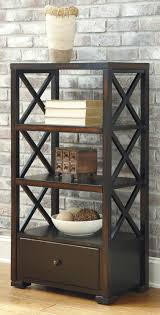 CabinetInspiring Rustic Wall Unit Bookcase Crafted From Solid Wood Classic Open Back Design Multi