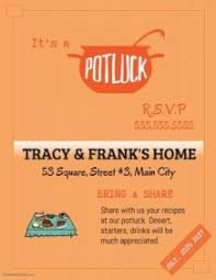 Halloween Potluck Signup Sheet by Customizable Design Templates For Potluck Event Postermywall