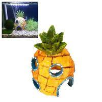 Spongebob Fish Tank Accessories by Aquarium Landscaping Decoration Spongebob House Aquatic Fish Tank