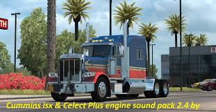 Cummins ISX And Celect PLUS Sound Pack 2.4 Mod - American Truck ...