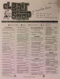 El Patio Menu Des Moines Iowa by El Bait Shop The Best Bar In America Des Moines Iowa The