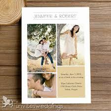 Cheap Rustic Photo Wedding Invitation Kits IWI316