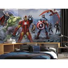 Wall Mural Decals Canada by Roommates 72 In X 126 In Avengers Assemble Ultra Strippable Wall