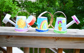 Homemade Watering Cans For Kids By IKat Bag