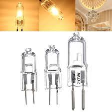 bright 20w 35w 50w halogen l bulb 12v g5 3 clear light