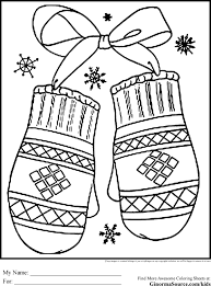 Christmas Presents Coloring Pages For Kids