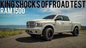 Ram 1500 Leveling Kit Before And After: Offroad Testing King Shocks ...