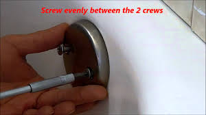 replace tub overflow drain cap youtube
